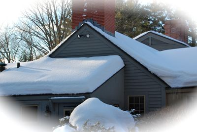 How to remove snow loads to prevent roof collapse eaton for Snow loads on roofs