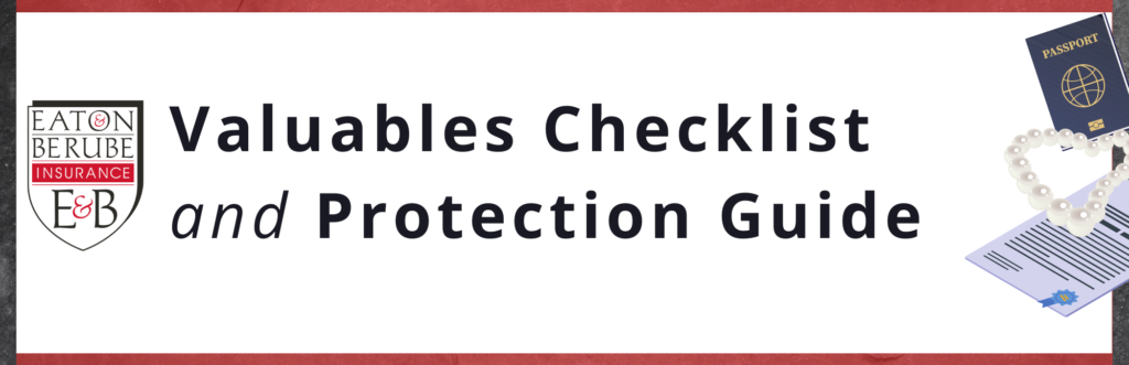 valuables protection and NH jewelry insurance